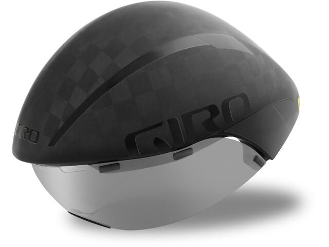 Giro Aerohead Ultimate MIPS Kask rowerowy, matte black/gloss black